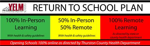 Thurston County Directs Schools to Reopen 100% Online