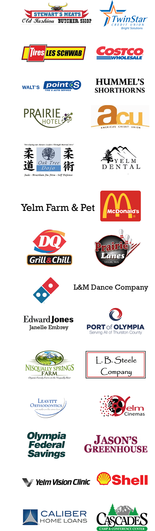 2020-21 Business Partner Logos