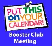 Booster Club Meeting